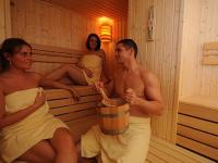 Hunguest Hotel Flora*** Sauna in the wellness hotel in Eger