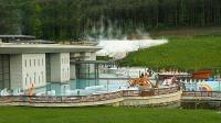 Outdoor and indoor pool at Saliris Wellness and Spa Hotel